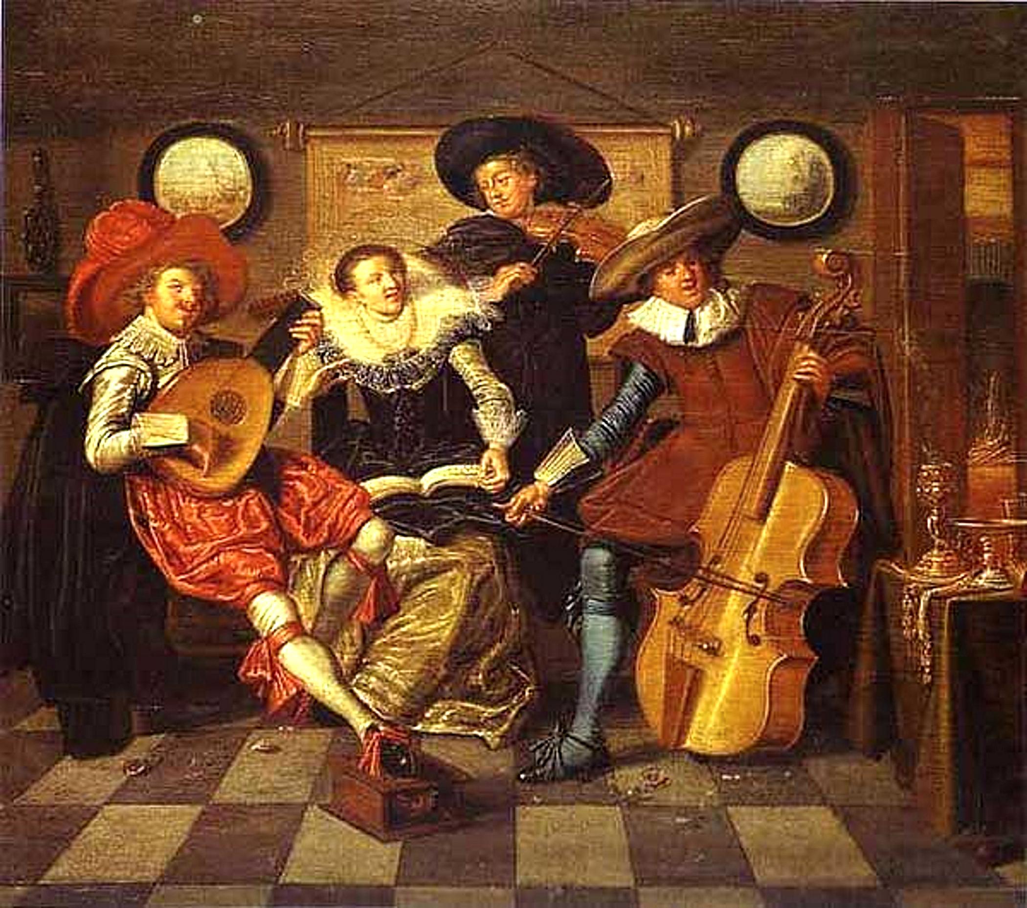 Дирк Халс (1591–1656). Музыканты